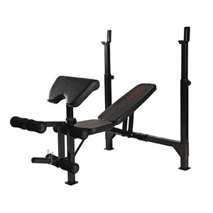 Posilovací lavice Marcy Olympic Width Barbell Bench BE5000